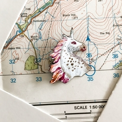 unicorn enamel pin-fantasy-mythical-romantic-brooch