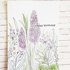 Happy Birthday - Wildflowers