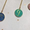 Personalised Initial Confetti Necklace ~ Teen Gift