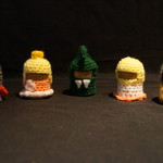 Crochet royal set