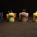 Crochet butterfly set