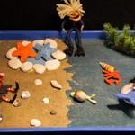 Beach yarn doll set
