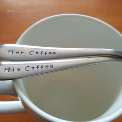 His Coffee, Her Coffee, Couple Coffee Set, Engagement, Wedding, Housewarming,