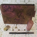 Cosmetic Pouch - Jewellery Pouch - Musk Paisley Design