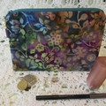 Cosmetic/Jewellery Pouch - Batik Design