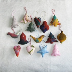 15 Felted Christmas Decorations #2