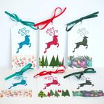 Christmas Gift Tags set of 6_Festive Reindeer