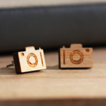 Camera Stud Earrings - Surgical Steel - Free Shipping