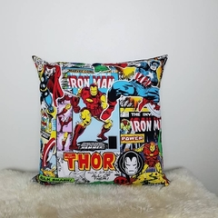 "Marvel dc comics pillow, dc comics pillow, 18"" pillow, thor pillow, captain"