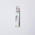 Unicorn keyfob, unicorn Keyring, keyring, unicorn wristlet, unicorn print,