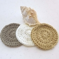 Make up remover, baby wash cloth, scrubbies, face washer, eco, gift, purple set