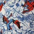 Marvel Spiderman cushion cover, spiderman pillow, spiderman fabric, spiderman