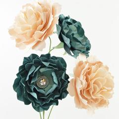 Emerald Isle Paper Flowers