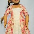 Medieval Gown - Pink Floral