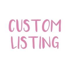 "Custom Listing for Courtney - Size 8 ""Jolly Santa"" Christmas Dress"