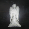 Felted White Angel