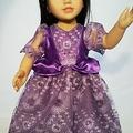 Mauve Princess Gown