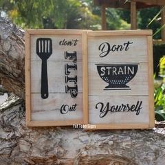Fun Rustic Farmhouse Kitchen Style Signs
