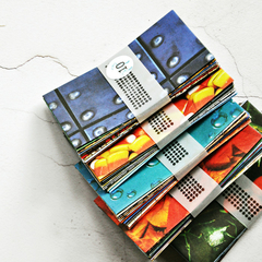 Mixed Coin Envelopes {10} | Random Textures + Patterns | Money Voucher Envelopes