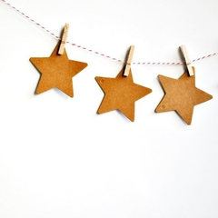 Kraft Star Tags {25} Large | Blank Star Tags | DIY Supplies | Christmas Tags