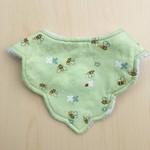 Baby Girl dribble bib | bandana bib