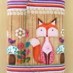 Foxy woodland small Pencil Wallet, Pencil Case, Drawing Set