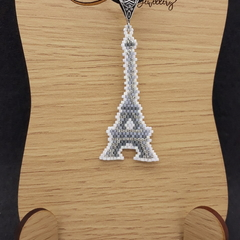 The Eiffel Tower Beaded Pendant Necklace Paris France