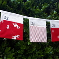 Custom Order for Laura - Advent Christmas Calendar Fabric Bunting