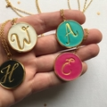 Initial Necklace, Set of 3 Personalised Letter Necklace