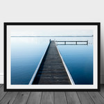 Wangi Jetty : Lake Macquarie, Australian Landscape Fine Art Photographic Print,