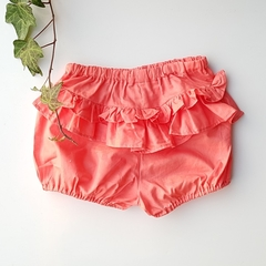 Girls Toddler Bloomers Ruffle pants Boho shorts Pink size 2