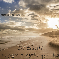 Stressed? There's a beach for that!