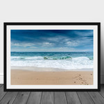 Glass Wave, Norah Head Beach, Central Coast, Landscape Print