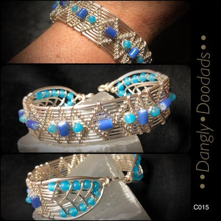 WIRE WRAPPED CUFF C015