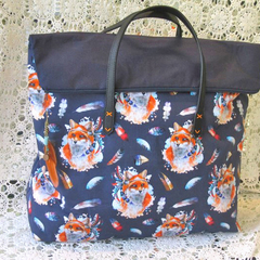 Overnight Bag/ Weekender, Fox Design