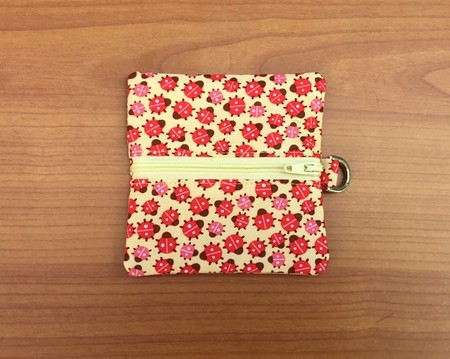 Yellow Ladybird Coin Purse