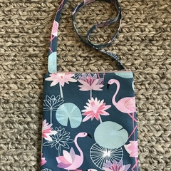 Large Flamingo cross-body bag