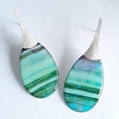 Resin Art Earrings
