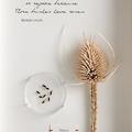 herbarium art, unique gift, quotation, handmade, timber frame, thorns, inspirati