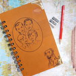 The Bobbsey Twins at School notebook - Notebook made from an upcycled book