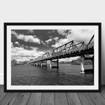 Taree bridge, on the New South Wales Mid North Coast, Australian Landscape Photo