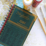 Whitaker's Almanack 1982 notebook - Notebook made from an upcycled book