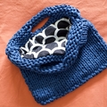 The Urban Tote | Knitted Bag | T-shirt yarn bag | Lined Handmade Tote