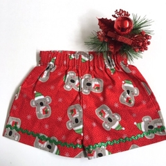 "Size 1 - ""Koala Xmas"" Christmas Shorts"