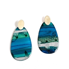 Resin Art Earrings
