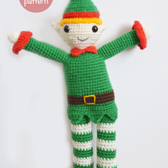 Christmas Elf Crochet Pattern (PDF)