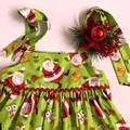 "Size 3 - ""Jolly Santa"" Christmas Dress"