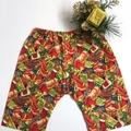 "New Born - ""Xmas Wonderland"" Harem Pants & Appliqued Singlet"