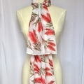 Australian Native Bottlebrush Flower Scarf, Australian Flora Scarf, Scarves