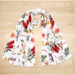 Native Australian Wild Flowers Scarf